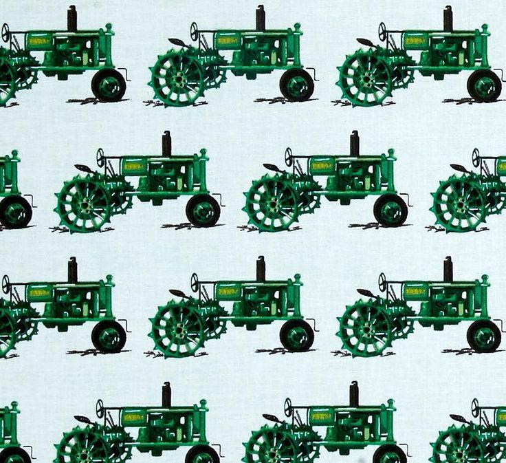45 Robert Kaufman Everyday Favorites Tractor Fabric | Marshall Dry