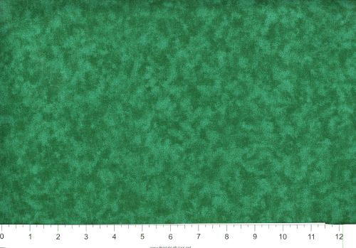 "1 yard  /""Frosty/"" Hunter Green Blender  Fabric"