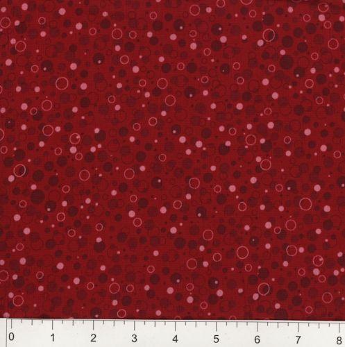 45 Patrick Lose Fabrics Bubbly Cranberry